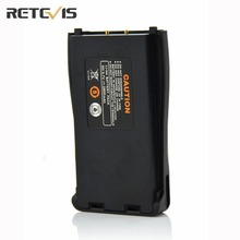 2800mAh Retevis Rechargeable Li-ion Battery Pack Walkie Talkie Accessories For BaoFeng 888S Retevis H777 Two Way Radio J9104K