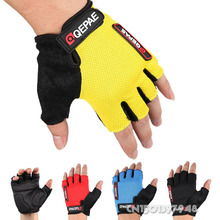 GZDL Guantes Ciclismo Breathable Outdoor Bicycle MTB BMX Road Bike Antiskid Short Half Finger Cycling Gloves Gel Pad MTB9006(China)
