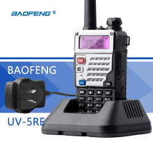 Baofeng UV-5RE Portofoon Walkie Talkie AU Plug VHF UHF UV 5R 2 Way Amateur CB Radio VOX Flashlight Portable Ham Transceiver