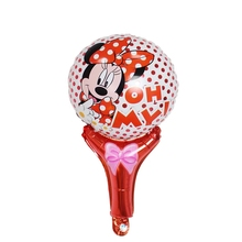 wholesale 20pcs/lot Foil Balloons Minnie Mickey Football Soccer Children's Birthday Party Balloon Helium Balloons Kids Gifts