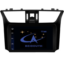 BEIDOUYH 10.2 inch Android Automobile Navigator for NISSAN SYLPHY 2016 with wifi/bluetooth support can-bus/APP Download/GPS