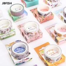 Buy JBFISH 1 pcs function series 15mm X 7m Kawaii washi tape children DIY masking tape 3100 for $1.09 in AliExpress store