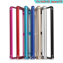 Brand New Ultralight for Huawei Ascend P8 Bumper Aluminium Metal Frame Edge Protective for Huawei P8 Bumper Phone Case Cleave(China)