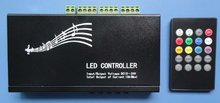 20key IR LED music controller,DC12-24V input,max 216w output,9channels