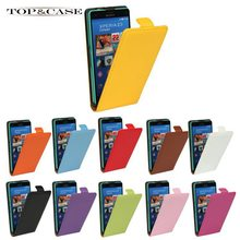 TUKE Fashion Leading Genuine Flip Leather Case Cover for Sony Xperia Compact Z3 mini Cell Phone with 11 Colors SJ0654(China)