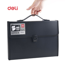 Deli Waterproof Book A4 Paper File Folder Bag business supplies Style Design Document Rectangle Office Home School folder
