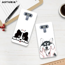ASTUBIA Cute Dog Case For LG G6 Case Silicone Hat BullDog Case For LG V30 Phone Cover For LG Q6 Case For LG K4 K8 K10 2017 Cover(China)
