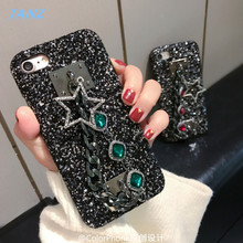 Buy TANZ Phone Cases iPhone 8 Plus 3D Bling Luxury Rhinestone Stars Chain Girls Cover Back case iPhone 6 6S 6plus 7 7plus for $5.69 in AliExpress store