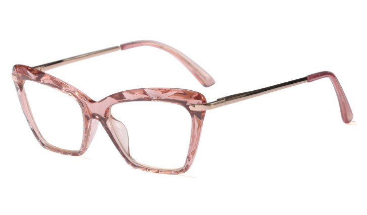 45591 Fashion Square Glasses Frames Women Trending Styles
