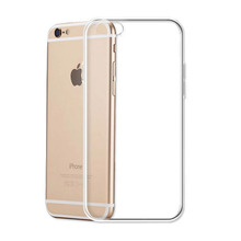 Ultra Thin Soft TPU Gel Original Transparent Case For iPhone 6 6s Plus 7 Plus 5 S SE Crystal Clear Silicon Back Cover Phone Bags