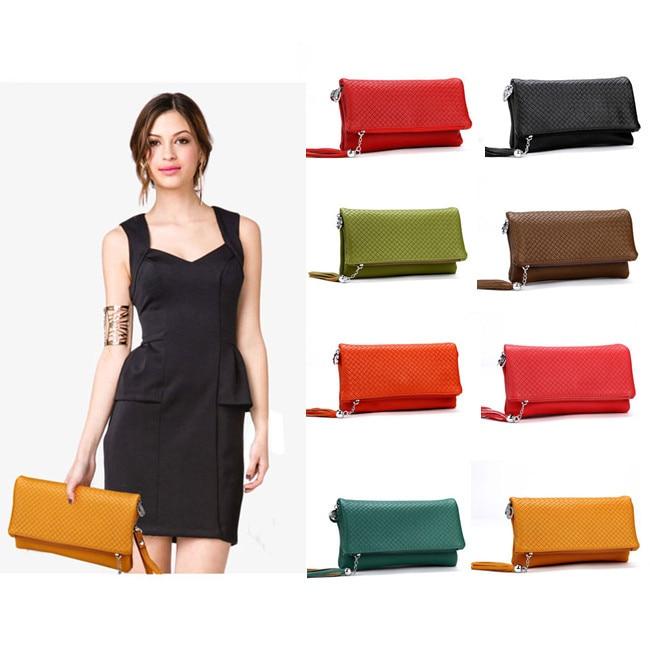 Fashion Womens Party Evening Bags High Quality Leather Women Day Clutch Shoulder Bag Three Layer Handbag BB0941<br><br>Aliexpress