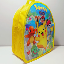 1pc 29*23*13cm Pokemon Go Pikachu SchoolBag Daypack Mini PP Gift Bag Cartoon Theme Kid Boy Birthday Party supplier Party Favors