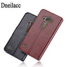 Luxury Business Style Wallet Flip Leather Case For LG G4 Beat G4S Phone Cover Skin Pouch With Card Holder Stand Design(China)