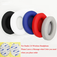 5 Color Comfort Soft Foam Replacement Earpad Cushion for Beats by dr dre Studio 2.0 Wireless Headphone