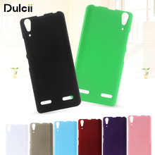 DULCII For Lenovo A 6010 A 6000 Phone Case Plastic Hard Shell for for Lenovo K3 Music Lemon A6000 Plus A6010 Plus Cover Coque