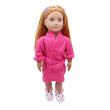 Hot sale beautiful 18-inch American Girl doll dress navy wind suit newborn baby toys, accessories (only sell clothes)(China)