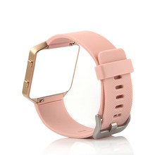 Bemorcabo for Fitbit Blaze Band,Soft Silicon Candy color Sports Watch Band Wrist Strap with Buckle for Fitbit Blaze Small Size