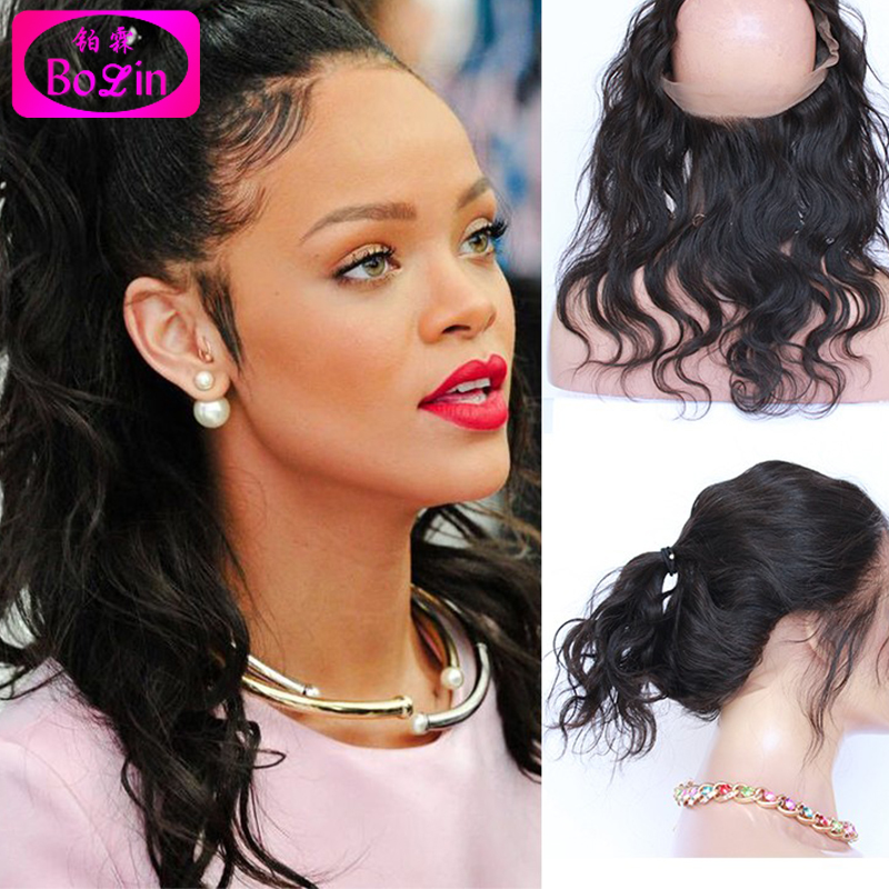 360 Lace Frontal Closure With Adjustable Straps 360 Lace Virgin Hair Brazilian Body Wave Wavy 6A 4*22 lace Frontals Closure<br><br>Aliexpress