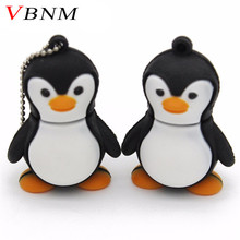 VBNM genuine cartoon penguin USB Flash Drive U Disk USB Creativo Pendrive 4gb 8gb 16gb 32gb Memory Stick Real capacity