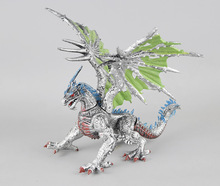 The three-dimensional simulation model dinosaur toys assembled plastic to hold hell dragon model