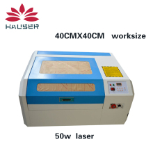 Free shipping 4040 laser engraving  machine,laser carving machine,laser engraver,work size is 40*40cm,laser machine