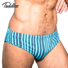 Taddlee Brand Man Men Swim Briefs Bikini Swimwear Swimsuits Gay Mens Swimming Boxer Trunks Surf Board Shorts Low Waist Big Size(China)