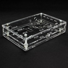 1PC Type Transparent Acrylic Sheet Housing Case For DSO138 Oscilloscope Wholesale Universal(China)