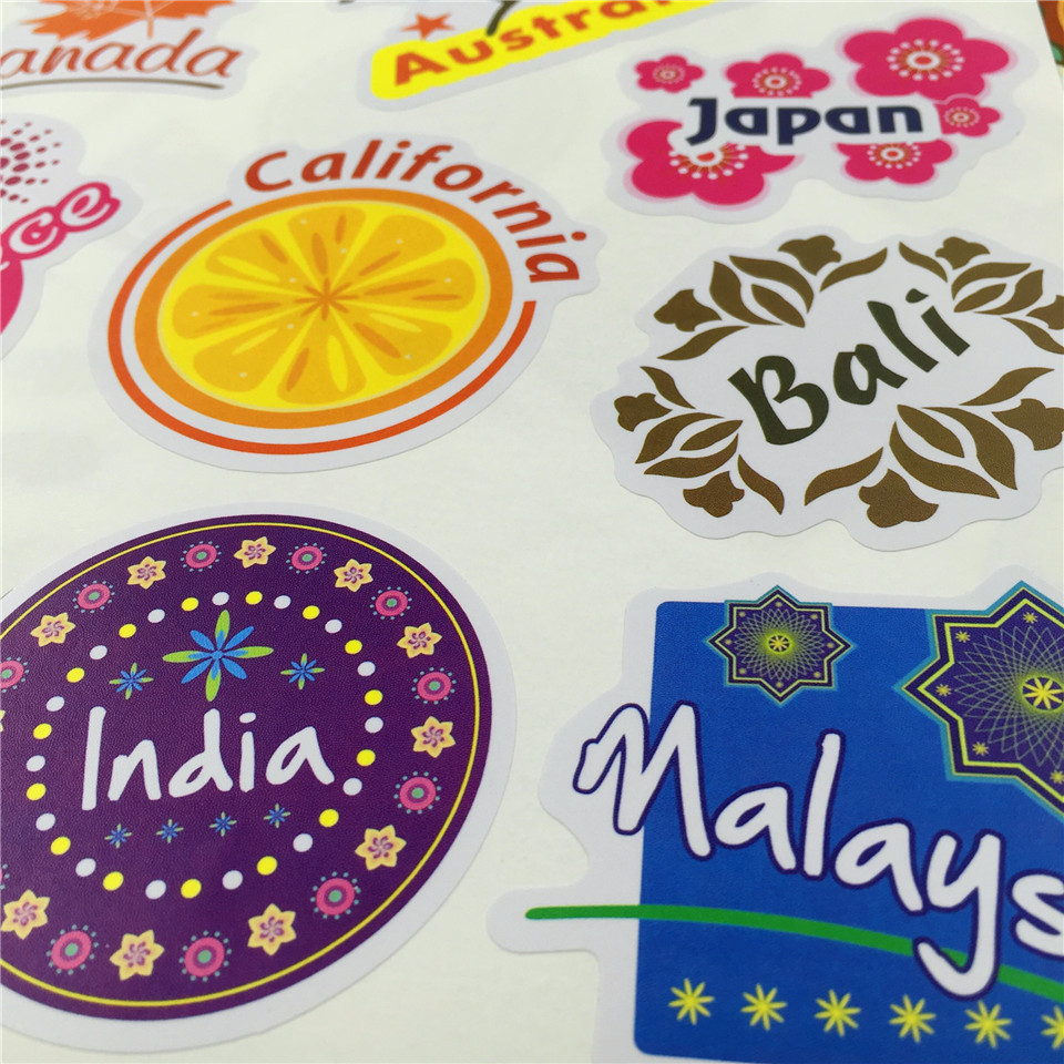 aliexpress com buy top fashion luggage travel stickers for
