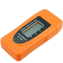 Mini 2Pins LCD Digital Moisture Meter Tester Wood Bamboo Cotton Tobacco Paper Timber Water Content Damp Detector 5%~40%