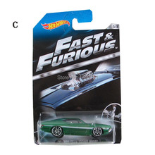 Hot little sports car fast and the furious 6 cars limited edition collector Children's present 1:64 car model toys(China)