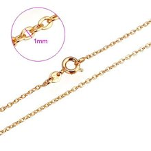 NEW ARRIVAL!!! 18KGP YELLOW GOLD 460MM FASHION CHOKERS NECKLACES, COME WITH A FREE EXQUISITE GIFT BOX! (KL1375-JD401)(China (Mainland))