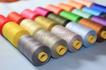 100% cotton thread 800 yards x 6 cones each set as hand/machine cotton sewing thread European quality(China)