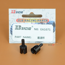 2pcs Free shipping JLB 1 10 electric four drive big foot car race speed card factory accessories metal differential cup EA1071(China)