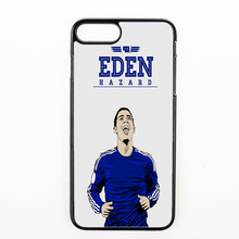 trendy awesome footballer Eden Hazard 10 Hard Phone cover case for iphone 4 4s 5 5s 5c se 6 6S 7 Plus iPod Touch 5 6 cases(China)