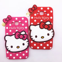 3D Cartoon Hello Kitty Case Soft Silicon Back Cover Samsung Galaxy 2015 J5 J500 & J7 J700 Rubber Phone Shell - Here Have A Store store