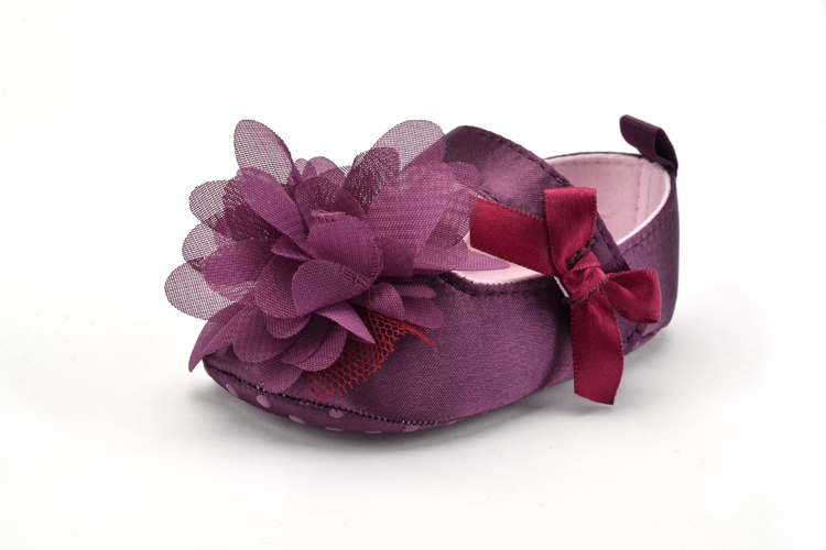 Flower Spring / Autumn Infant Baby Shoes Moccasins Newborn Girls Booties for Newborn 3 Color Available 0-18 Months 21