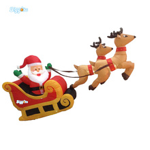 Inflatable Biggors Christmas Decoration Products Inflatable Santa Claus For Festival Event(China)
