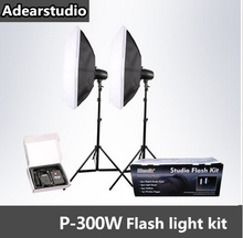 Menik 300W Professional Photography Studio Flash Strobe Light Lighting Kit for Portrait Photography,Studio and Video ShootsNO00D(China)