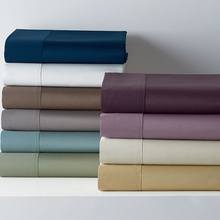 sheets 13 colors 100% Egyptian cotton theme hotel style solid color bed sheets satin satin Home Textile(China)