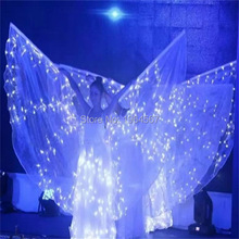 New design 2017 LED Clothes Wing LED Clothing Women Luminous Suits Costumes Glowing Lady Dance Dresses