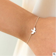 S 37 1 PCS bracelet bracelet peace bird dove fly a little abstract cute chicks swallow bracelet factory outlets