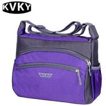 New nylon bag unisex casual shoulder bag college Messenger bag junior high  school student bag college c679b6b580c2d