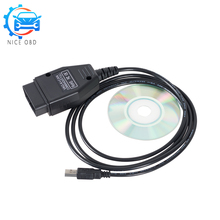 VAG Com v 1.4 commander k+can OBD 2 USB Scanner works ON Windows Software vag CAN K-line commander 1.4 cable For vw/Seat/Audi(China)