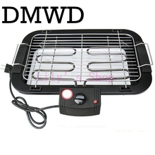 Household Electric oven Furnace Heating Smokeless Barbecue pits Grill Indoor Carbon Free BBQ pan Hotplate Griddle EU US plug