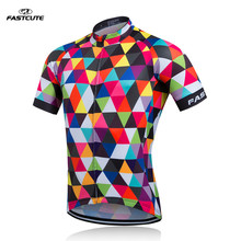 FASTCUTE Cycling Jersey only Racing Sport Bike clothes Tops mtb Bicycle Bike Clothing Ropa Ciclismo Cycling Wear clothes HBF23