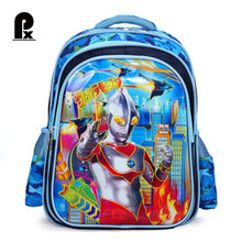 Kindergarten Children School Bag Altman Backpacks 6D Cartoon Transformers School Bags Pupil Spider-Man Backpack for Boys Kid Bag