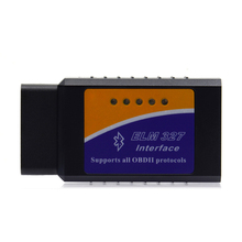 Newest ELM327 OBD2 Bluetooth V2.1 Interface Works On Android Torque Elm 327 Bluetooth OBD2/OBD II Car Diagnostic Scanner(China)