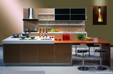 Cheap Melamined Plywood Kitchen Cabinet For Project Use