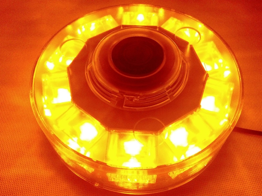 CYAN SOIL BAY 30W 10 LED Car Emergency Beacon Light Bar Strobe Warning Lamp High Power Amber<br>