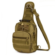 Men Waterproof Nylon Military Travel Tote  Handbag Messenger Shoulder Sling Pack Chest Bag